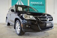 2011 Volkswagen Tiguan LOADED/BLUETOOTH/PAN ROOF/HEATED LEATHER