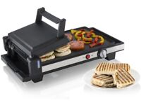 Griddle and panini maker.