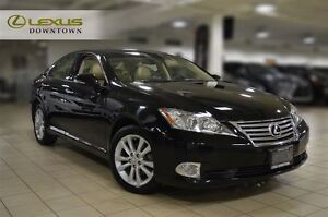 2012 Lexus ES 350 PREMIUM, 1 OWNER, NO ACCIDENT, LEATHER, SUNROO