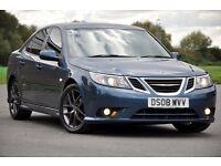 2008 Saab 9-3 1.9 TiD Vector Sport 4dr+FREE WARRANTY+TINTED WINDOWS+6 SPEEDS+VERY CLEAN+BOSE+FSH