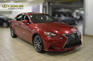 2014 Lexus IS 250 F-SPORT PREMIUM, NAVI, CAMERA, SUNROOF, 1 OWNE