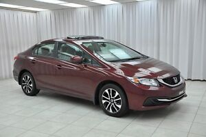 2013 Honda Civic EX 5SPD SEDAN w/ BLUETOOTH, HEATED SEATS, SUNRO