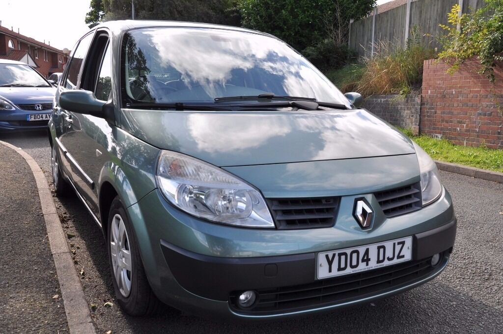 RENAULT SCENIC GREEN 5 DOOR 1.6 7 SEATER *LONG MOT* *2KEYS*