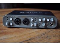 Selling M-Audio Fast Track Pro USB sound card DAC MINT condition