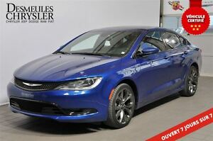 2015 Chrysler 200 S**AWD**V6**295 HP**MAGS 19''