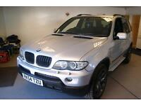 BMW X5 Sport 24v (silver) 2004