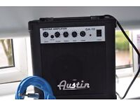BRAND NEW AUSTIN GUITAR AMP, BOXED AND NEW LEAD NEVER USED BARGAIN