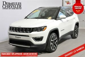 2017 Jeep Compass LIMITED*AWD*CUIR*TOIT*GPS