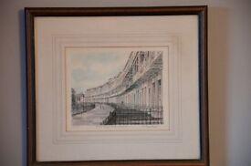Bristol Royal York Crescent Framed Painting