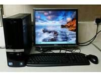 Computer PC HP Pro 3130 SFF Intel Core i3 3.2GHz 3GB 300GB Windows 7