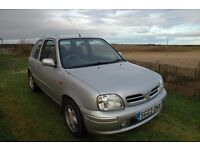 Nissan Micra 1.0 Tempest, Only 56629 miles, 12 Months MOT, new tyres and battery