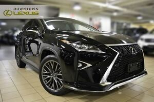 2016 Lexus RX 350 F-SPORT 2, NAV, CAM, ROOF, 1 OWNER, NO ACCIDEN