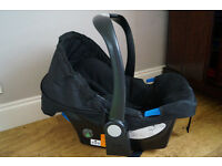 Mothercare car seat group 0+ Black