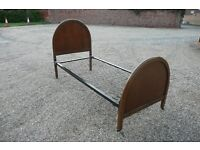 1960s single spring base bed