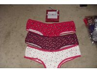 SIZE 20 NEW PACK OF 3 LADIES BRIEFS IN GIFT BOX