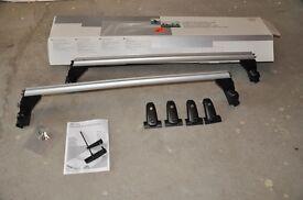 Audi A4 b7 roof rack bars genuine Audi