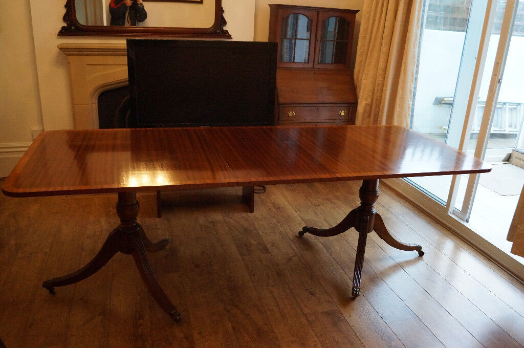 Beautiful Solid Wood Antique Dining Table In South East London