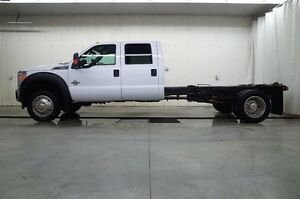 2015 Ford F-550 CHASSIS CAB CREW CAB XLT 4X4