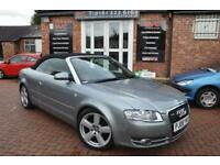 AUDI A4 2.0 TDI S LINE 2d 141 BHP 2 KEYS/ 2 OWNERS / LEATHER INTERIOR (grey) 2008