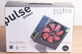 PULSE POWER 650W PSU 4 X SATA 120MM FAN POWERSUPLY