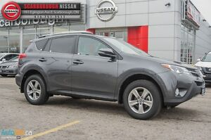 2015 Toyota RAV4 XLE-WELL EQUIPPED WITH UNDER 30000KM'S!!!