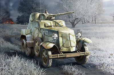 HOBBYBOSS® 83840 Soviet BA-10 Armor Car in 1:35