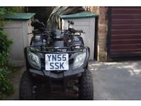 For sale Kymco 250cc quad bike.