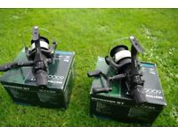 2 x SHIMANO ST 6000 RA FISHING REELS WITH BOXES