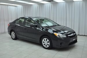 2013 Subaru Impreza 2.5L AWD SEDAN w/ BLUETOOTH, A/C, POWER W/L/
