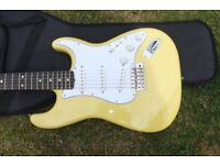 New Limited Run 60's Special Addition Canary Diamond Stratocaster