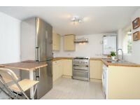A stylish two bedroom period property with rear private patio available to rent on Cranley Gardens