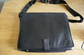Ashwood Laptop case/Briefcase - with leather cover