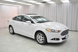 2013 Ford Fusion SE ECOBOOST SEDAN w/ BLUETOOTH, LEATHER, NAV, S