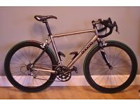 Enigma Effusion Titanium Race Bike , 56cm , Campagnolo Chorus 10, Immaculate.