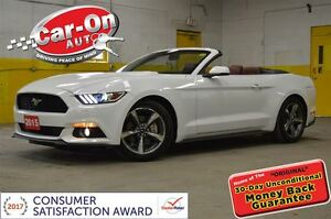 2015 Ford Mustang PREMIUM CONVERTIBLE LEATHER LOADED ONLY 9000KM