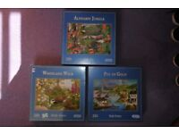 Job lots of board games and puzzles (little used)