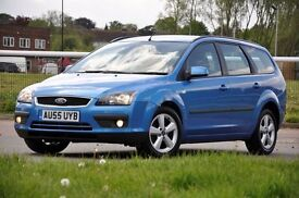 2006 Ford Focus 1.6 Zetec Climate 5 DOORS+ESTATE+1 FORMER KEEPER+12 MONTHS MOT+READY TO DRIVE AWAY