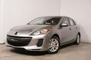 2012 Mazda MAZDA3 SPORT GX GR COMMODITÉ (MAN, A/C, CRUISE, BLUET