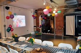 East London - VENUE HIRE for birthdays, cocktails, lunch, wedding reception...