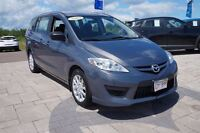 2010 Mazda MAZDA5 GS! Manual! 0.9% Financing! 6 Passenger!