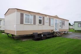 lovely sited Static caravan in Lincs (cheap must go)