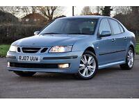 2007 Saab 9-3 1.9 TiD Vector Sport Anniversary 4dr+DIESEL+6 SPEEDS+12 MONTHS MOT+FULL LEATHER