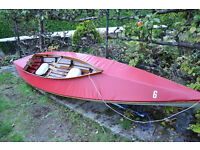 Wooden - frame double kayak