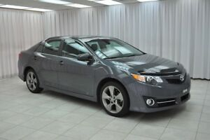 2012 Toyota Camry SE SEDAN w/ BLUETOOTH, PADDLE SHIFTERS, SPOILE