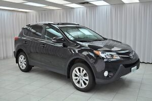 2014 Toyota RAV4 LIMITED AWD SUV w/ BLUETOOTH, HEATED LEATHER, N