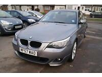 BMW 5 Series 520d M Sport (grey) 2007