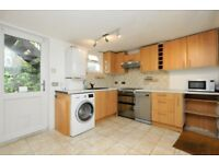 Amhurst Road, two bed flat with divided patio garden