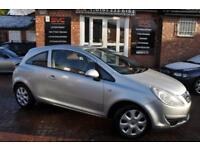 VAUXHALL CORSA 1.2 CLUB A/C 16V 3d 80 BHP COMES WITH 12 MONTH MOT (silver) 2008