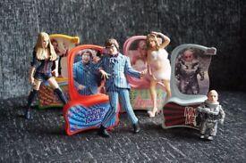 Austin Powers action figures - Austin, Felicity, Fembot