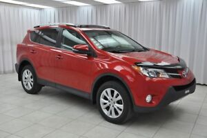 2013 Toyota RAV4 LIMITED AWD SUV w/ BLUETOOTH, HEATED LEATHER, D